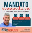 18/07/2018 - Vereador Nor Boeno realiza mais uma ação do mandato comunitário no bairro Lomba Grande