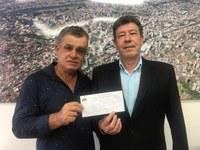 18/11/2019 - Vereador Serjão recebe em seu gabinete locutor que retornou ao MDB