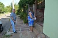 19/03/2020 - Vereador Nor Boeno solicita colocação de rede de água em passeio público no bairro São Jorge