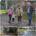 19/07/2018 - Vereador Nor Boeno pede melhorias em rua no bairro Canudos, após três semanas de chuva