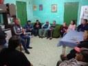 19/07/2019 - Vereador Nor Boeno dialoga com moradores do bairro Canudos na noite de terça-feira