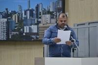 19/10/2018 - Vereador Fernando Lourenço solicita recapeamento asfáltico na rua José Carlos Passos