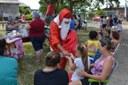 19/12/2019 - Vereador Nor Boeno apoia mais uma festa de Natal da Associação de Moradores da Vila Iguaçu