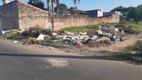 1º/04/2020 - Vereador Nor Boeno pede recolhimento de resíduos ao lado de campo de areia em Canudos