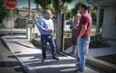 1º/09/2017 - Gabinete: Vereador Nor Boeno verifica situação de bueiros no bairro Canudos