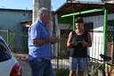 20/02/2018 - Vereador Nor Boeno realiza ação do Mandato Comunitário no bairro Santo Afonso e encaminha pedidos
