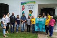 """20/03/2018 - Cristiano Coller participa de apresentação da campanha """"Tirando as Diferenças"""""""