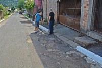 20/03/2020 - Vereador Nor Boeno recebe demanda de morador no bairro São José