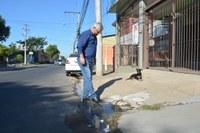 20/05/2020 -  Nor Boeno recebe demanda relacionada a saneamento básico e encaminha à Prefeitura