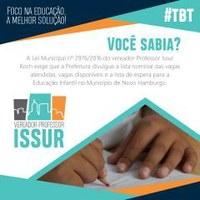20/06/2018 - #tbt: Professor Issur compartilha acontecimentos que marcaram seu mandato
