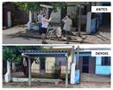 20/11/2018 -  Vereador Nor Boeno tem pedido de recolocação de telhado em parada de ônibus atendido