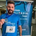 21/06/2021 - Vereador Gustavo Finck prestigia a corrida solidária da Fenac