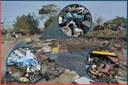 21/08/2019 - Nor Boeno solicita retirada de lixo depositado às margens do Arroio Pampa em Canudos