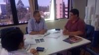 21/09/2017 - Gabinete: Enio Brizola participa de reunião para pedir providências para o bairro Boa Saúde