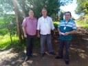 22/03/2018 - Vereador Gabriel Chassot realiza visita com o diretor de Infraestrutura no bairro São José