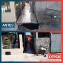 22/04/2020 - Vereador Nor Boeno tem pedido de conserto de infiltração atendido em Canudos