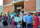 22/08/2017 - Gabinete: Vereador Brizola acompanha comunidade do Kephas em manifestação pela segurança