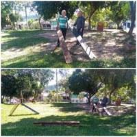 26/11/2018 - Vereador Nor Boeno solicita revitalização de praça do bairro Liberdade