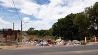 24/01/2020 - Gabinete do vereador Nor Boeno solicita recolhimento de lixo nas margens do Arroio Pampa