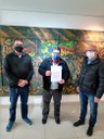 26/05/2021 - Brizola articula recurso de R$ 200 mil para cooperativa de catadores em Novo Hamburgo