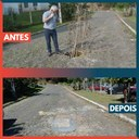 26/09/2019 - Vereador Nor Boeno pede recolocação de tampa de boca de lobo na Marisol