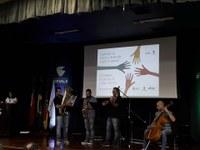 27/02/2019 - Tita participa de seminários de Justiça Comunitária e Direitos Humanos e da Educação de Jovens e Adultos
