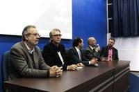 27/04/2017 – Gabinete: Vereador Brizola participa de seminário contra a Reforma da Previdência na Feevale
