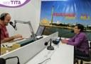 27/08/2019 - Tita participa de bate-papo na rádio Felicidade Gospel
