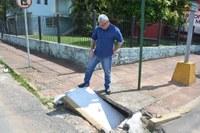 28/02/2020 - Vereador Nor Boeno requer conserto de bueiro na avenida Vitor Hugo Kunz