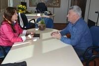 28/06/2017 - Gabinete: Vereador Nor Boeno apresenta proposta para área da educação