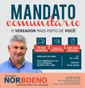 28/06/2018 - Vereador Nor Boeno realiza Mandato Comunitário no bairro São José