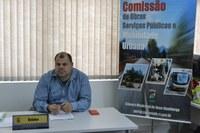 28/10/2019 - Fernando Lourenço requer colocação de abrigo em parada de ônibus na rua Joaquim de Oliveira