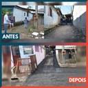 29/06/2020 - Vereador Nor Boeno tem pedido atendido na rua Arthur Klein em Canudos