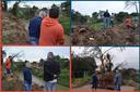 29/07/2019 - Nor Boeno busca soluções para deslizamentos em trecho do arroio Pampa