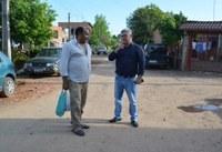29/10/2019 - Vereador Nor Boeno requer patrolamento e colocação de brita em oito ruas na Getúlio Vargas