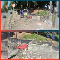 29/11/2019 - Vereador Nor Boeno requer revitalização nos fundos da escola Monteiro Lobato no bairro São Jorge