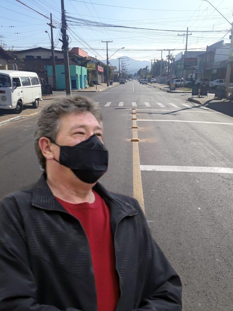 14/09/2021 - Serjão consegue melhorias na sinalização de cruzamento na rua Ícaro