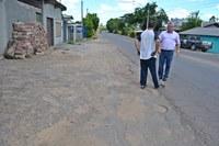 19/02/2018 - Vereador Nor Boeno solicita operação tapa-buracos em trecho da estrada Leopoldo Petry